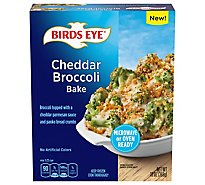 Birds Eye Cheddar Broccoli Bake, Frozen Vegetable - 13 OZ