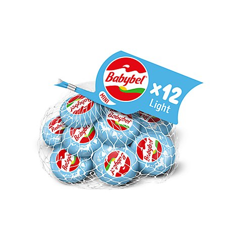 Babybel Semisoft Light Mini Cheese - 9 Oz.