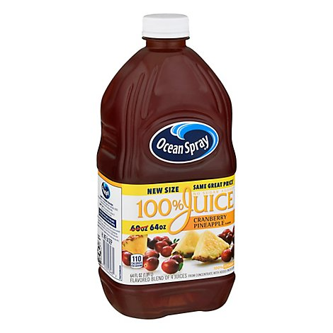 Ocean Spray Cranberry Pineapple 100% Juice - 64 FZ