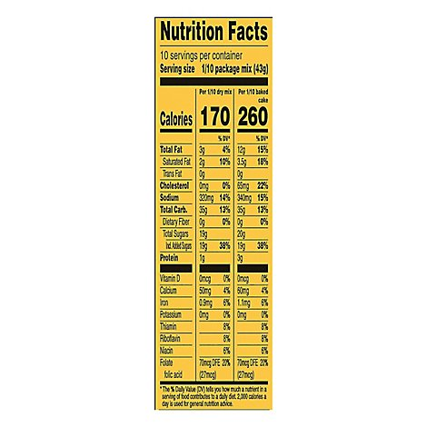 Duncan Hines Signature Banana Supreme Cake Mix - 15.25 OZ