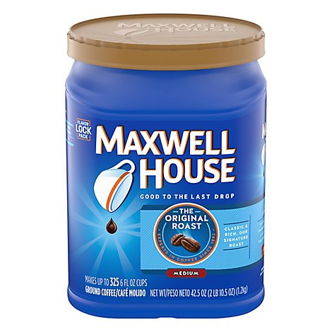 Maxwell House Original Roast Ground Coffee - 42.5 OZ