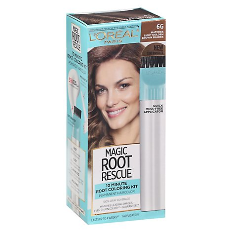 Loreal Paris Root Rescue Light Golden Brown 6g - EA