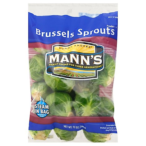 Manns Brussels Sprouts - 12 OZ