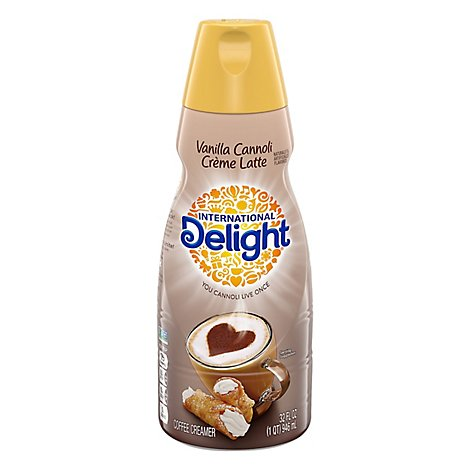International Delight Cannoli Cream Latt - 32 FZ