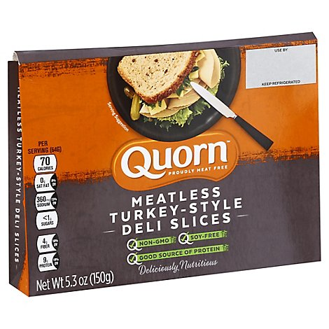 Quorn Meat-free Turkey Deli Slices - 5.3 OZ