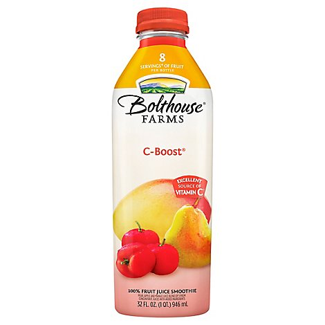 Bolthouse Farms C Boost Immunity Support Fruit Smoothie - 32 FZ