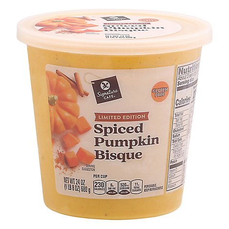 Signature Cafe Soup Spiced Pumpkin Bisque - 24 OZ