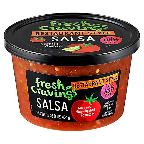 Fresh Cravings Salsa Hot - 16 OZ