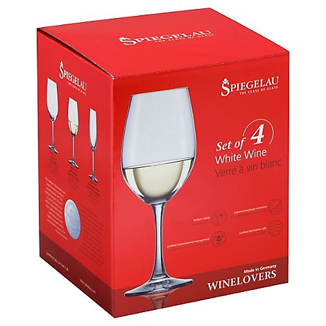 Spiegelau Wine Lovers 13.4 Oz White Wine Glass Set Of 4 - 4 CT