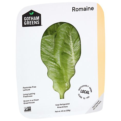 Gotham Greens Lettuce Romaine - 4.5 OZ
