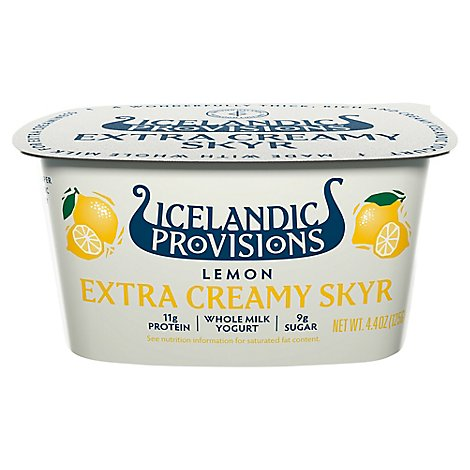 Icelandic Lemon Skyr Yogurt - 4.4 OZ