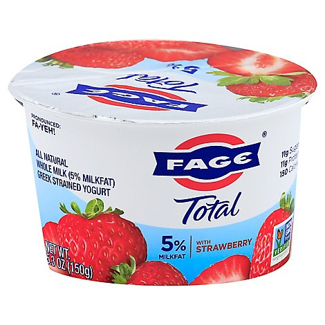 Fage Total Strawberry Yogurt - 5.3 OZ