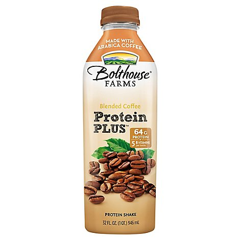 Bolthouse Farms Blended Coffee Protein Plus Drink - 32 Fl. Oz.