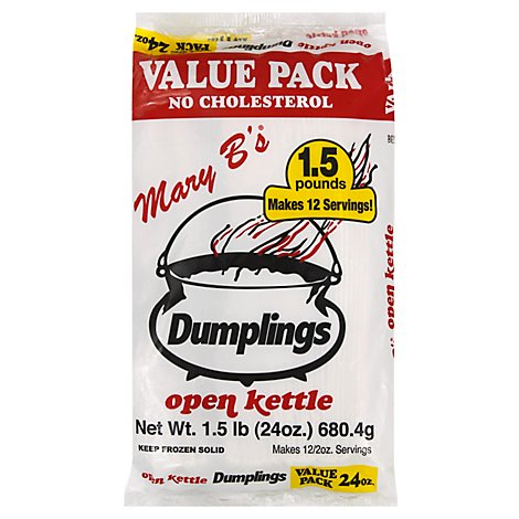 Mary B's Dumplings Value Pack - 24 OZ