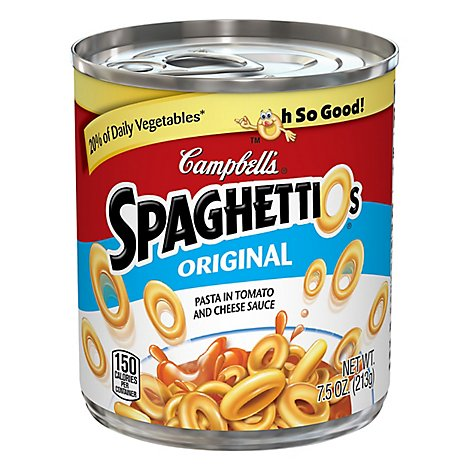 Campbells Original Spaghettios 7.5oz Can - 7.5 OZ