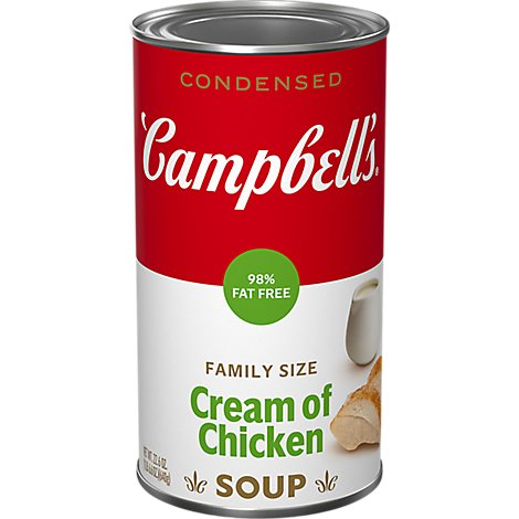 Campbells Condensed Soup Cream Chicken - 22.6 OZ