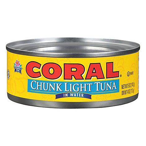 Bumble Bee Coral Chunk Light Water - 5 OZ