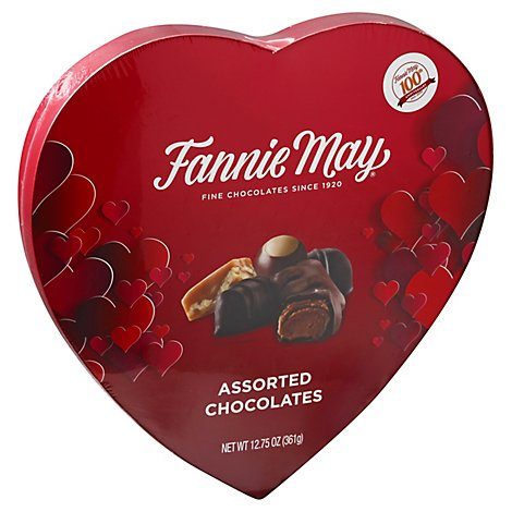 Fm Astd Choc Heart Box - 12.75 OZ