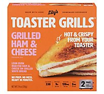 Lilys Toaster Grills Ham & Cheese - 7.4 OZ