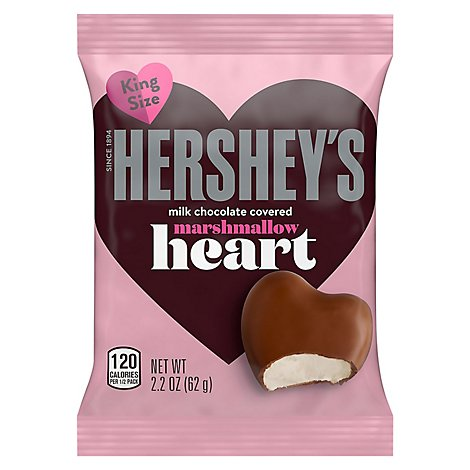 Hshy Marshmallow Hearts - 2.2 OZ