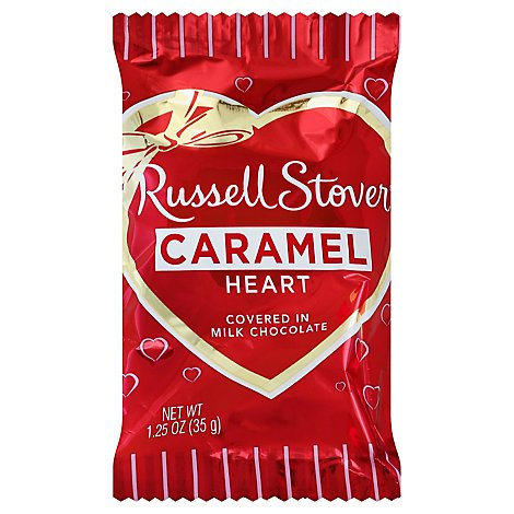 Rstvr Mc Caramel Heart Sngle - 1.25 OZ