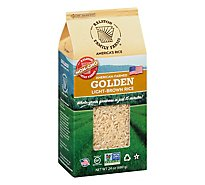 Ralston Family Farms Rice Golden Light Brown - 24 Oz