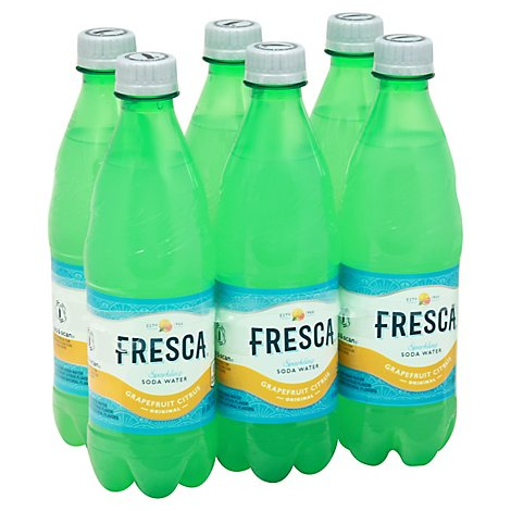 Fresca Bottles 16.9 Fl Oz 6 Pack - 6-16.9FZ
