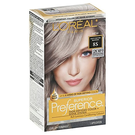 Loreal Preference 2019 Soft Silver Blonde - EA