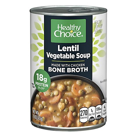 Healthy Choice Lentil Vegetable Soup - 15 OZ