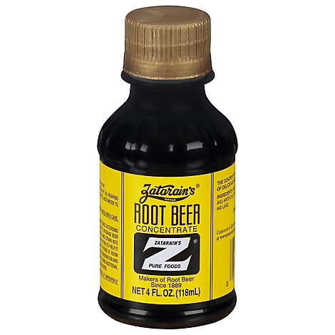 Zatarains Root Beer Extract - 4 OZ