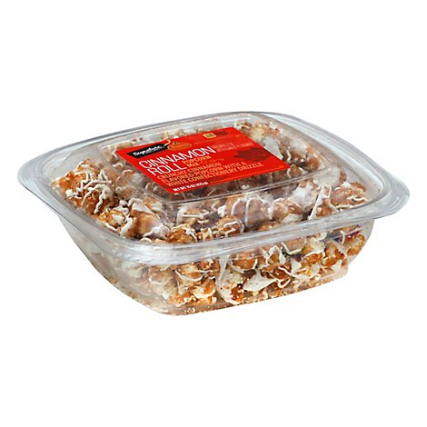 Signature Select Seasons Popcorn Mix Cinnamon Roll - 15 OZ