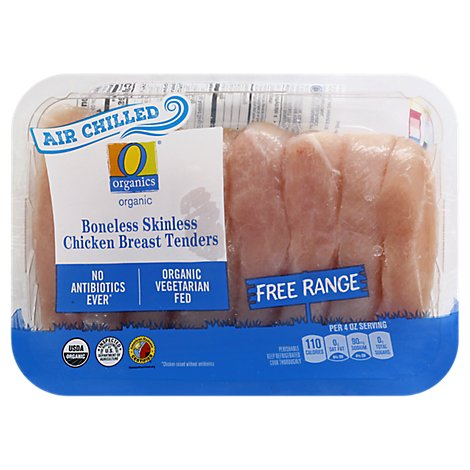 O Organics Chicken Tenders Air Chill - 1.05 Lb