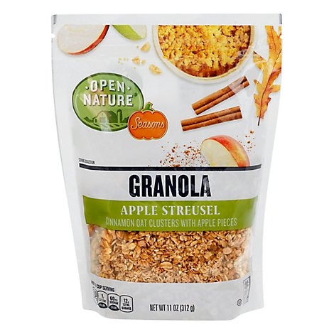 Open Nature Seasons Granola Apple Streusel - 11 OZ