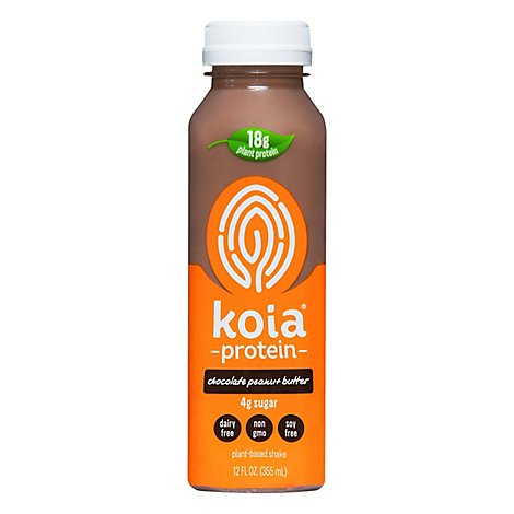 Koia Chocolate Peanut Butter Protein Drink - Each