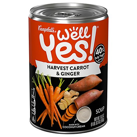 Campbells Carrot Ginger Well Yes Soup - 16.3 OZ