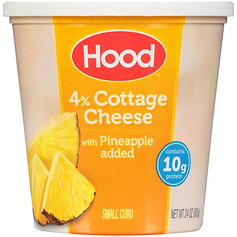 Hood Pineapple Cottage Cheese - 24 OZ