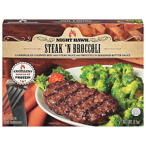 Steak N Broccoli - 6.1 OZ
