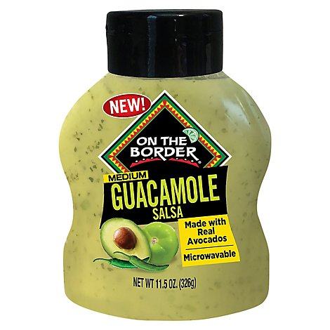 On The Border Salsa Bottle Guacamolebtl - 11.5 OZ