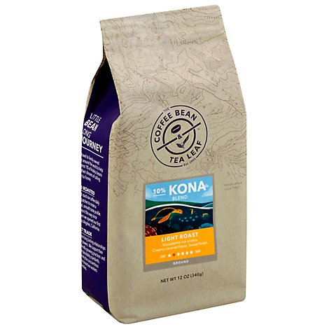 The Coffee Bean Kona Blend Ground Coffee - 12 OZ