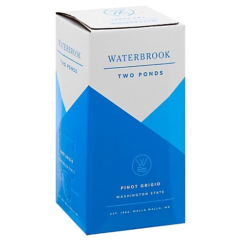 Waterbrook Two Ponds Pinot Grigio Wine - 3 LT