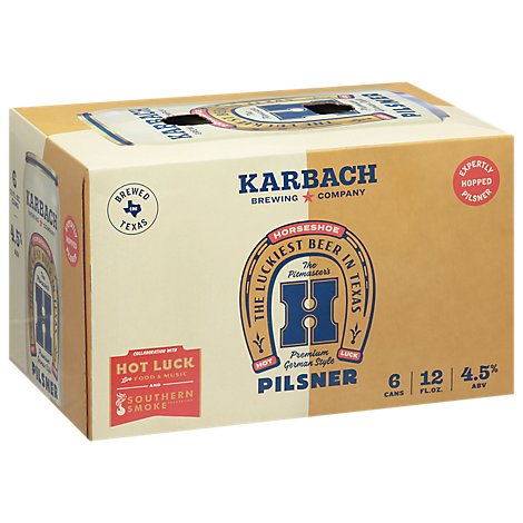Karbach Horseshoe In Cans - 6-12 FZ