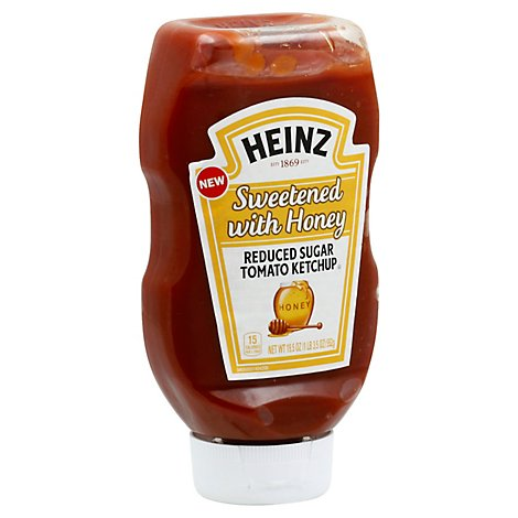 Heinz Tomato Ketchup Ketchup Sweetened With Honey - 19.5 OZ