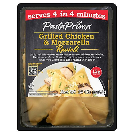 Pasta Prima Grilled Chicken And Mozzarella Ravioli - 14 OZ