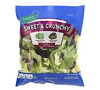 Signature Farms Salad Blend Sweet & Crunchy - 5 OZ