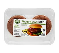 Open Nature Plant Based Pea Protein Patties - 2-4 Oz.