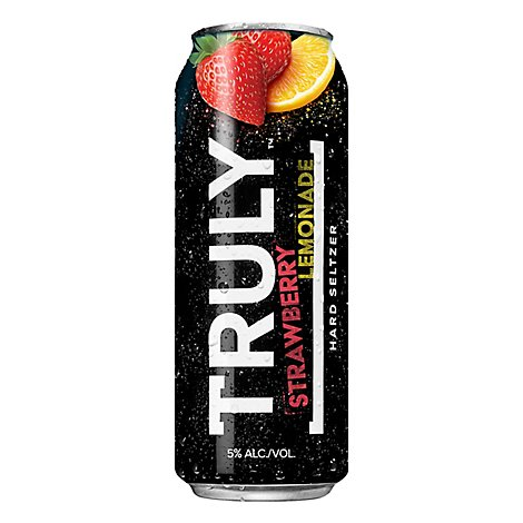 Truly Strawberry Lemonade In Cans - 24 FZ