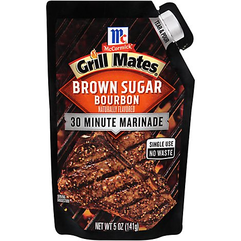 McCormick Grill Mates Marinade Brown Sugar Bourbon - 5 Oz