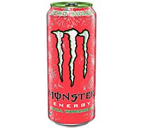 Monster Energy Drink Ultra Watermelon - 16 Fl. Oz.
