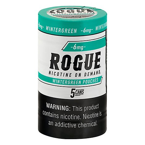 Rogue Nicotine Pouch Wintergreen 6mg - 20 CT