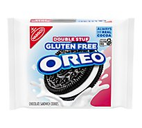 OREO Cookies Sandwich Double Stuf Gluten Free Chocolate - 14.03 Oz